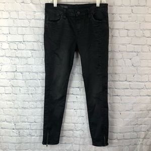 Jut From The Kloth Brigitte Ankle Skinny Jeans